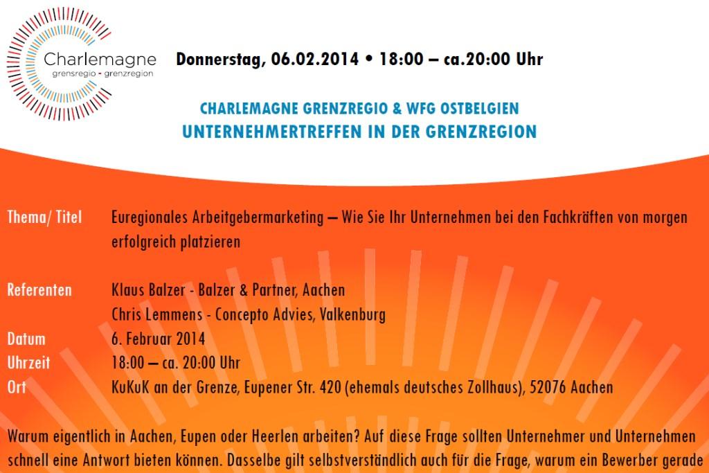 """Vortrag """"Employer Branding"""" für die WFG Ostbelgien"""