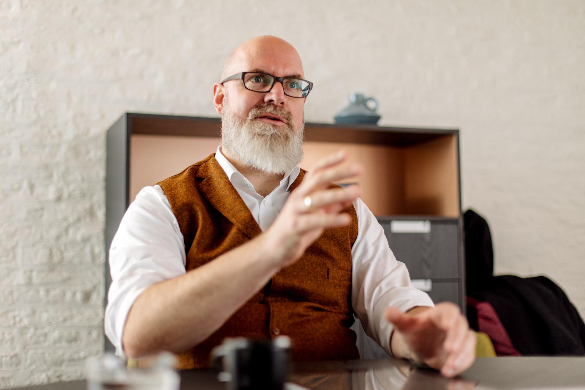 Klaus Balzer im Gespräch