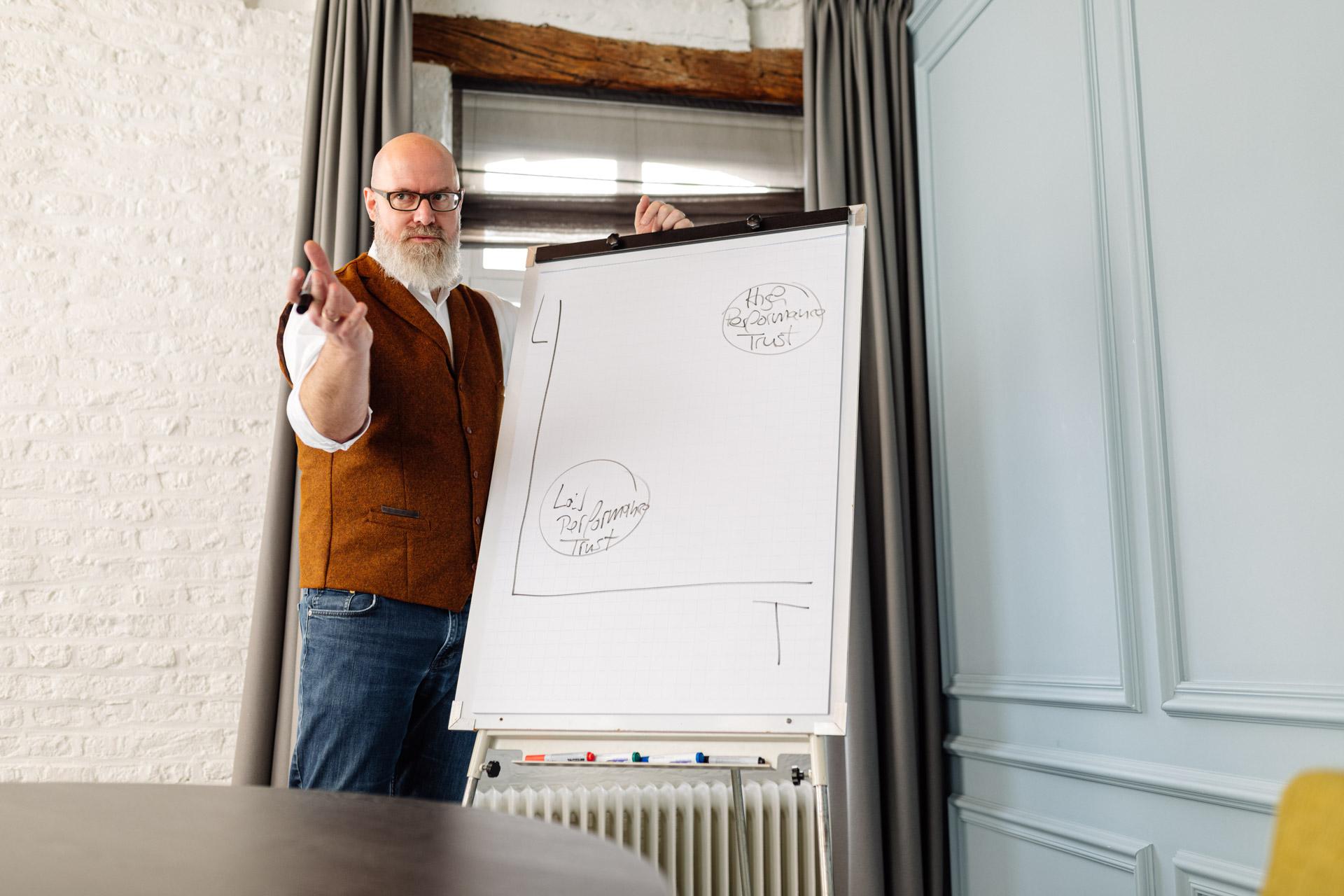 Klaus Balzer im Dialog / Schulung