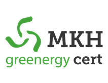 MKH greenergy cert Logo