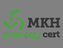 MKH greenergy cert Logo